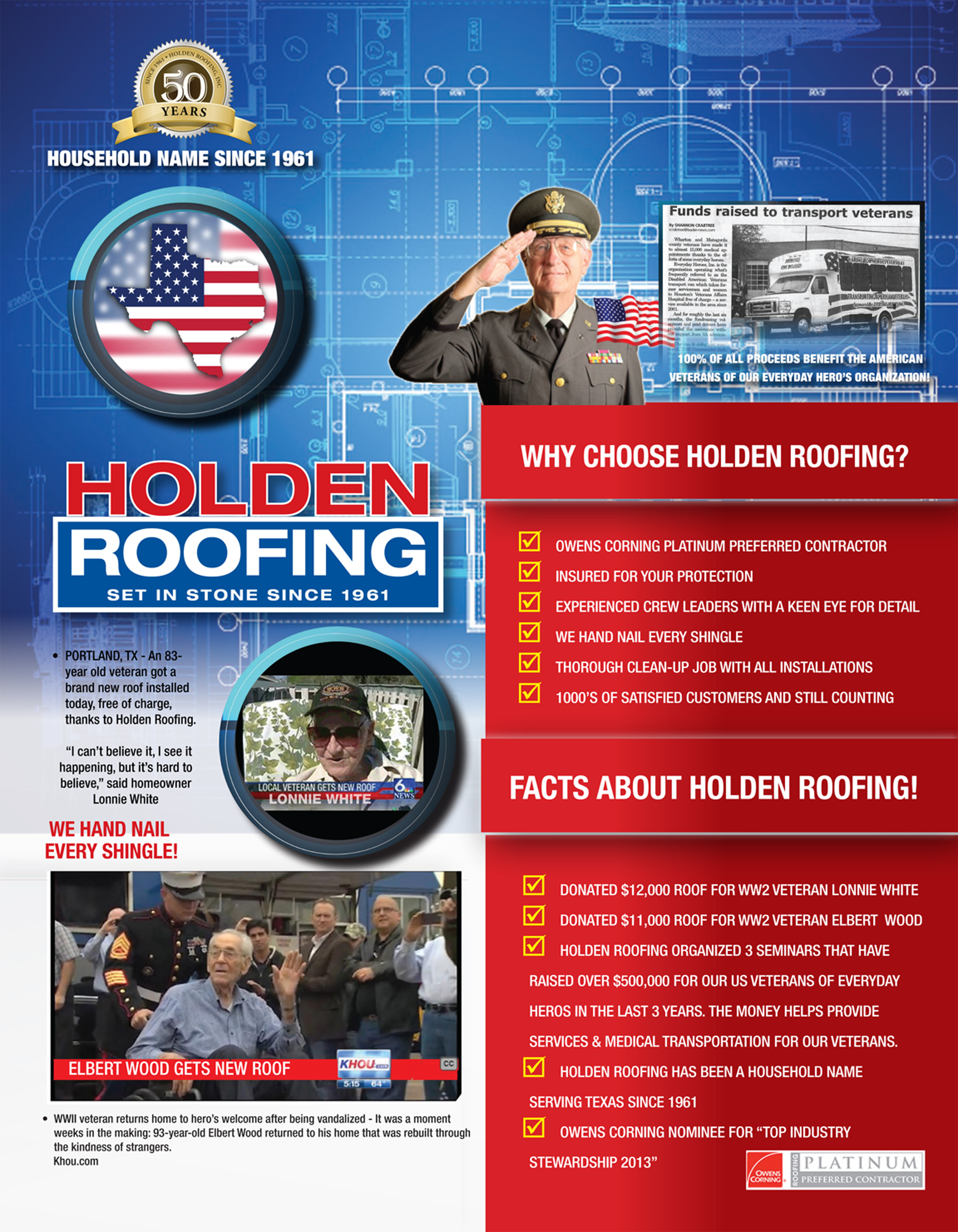 Holden Roofing Company Quot We Are Not Just Roofers Quot